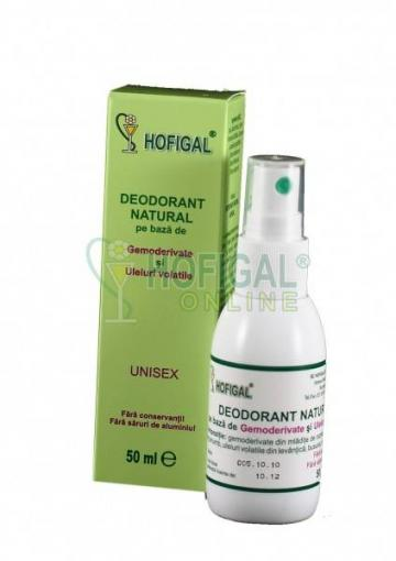 Deodorant natural Hofigal 50 ml